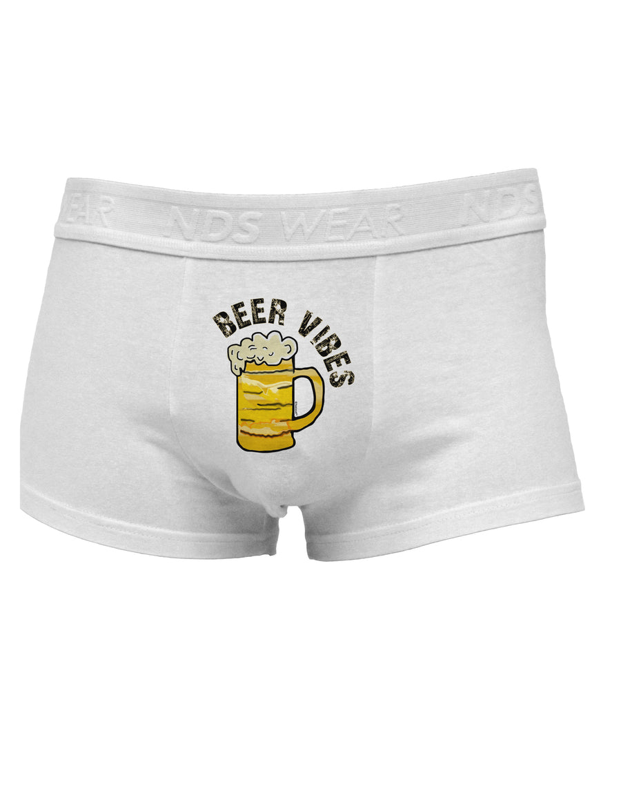 Beer Vibes Mens Cotton Trunk Underwear White XL Tooloud