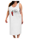 I'm a Little Chilli Adult Tank Top Dress Night Shirt White Tooloud