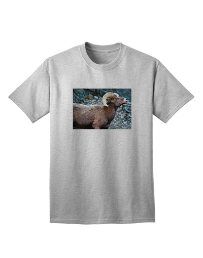 TooLoud Wide Eyed Big Horn Adult T-Shirt