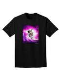 Astronaut Cat Adult Dark T-Shirt