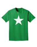 White Star Adult Dark T-Shirt - Kelly Green - 4XL Tooloud