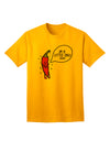 I'm a Little Chilli Adult T-Shirt Gold 4XL Tooloud