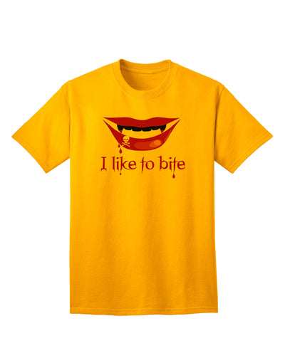 Like to Bite Adult T-Shirt