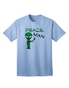 Peace Man Alien Adult T-Shirt