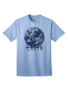 Planet Earth Text Adult T-Shirt