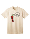 I'm a Little Chilli Adult T-Shirt Natural 4XL Tooloud