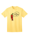 I'm a Little Chilli Adult T-Shirt Yellow 4XL Tooloud
