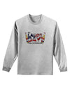 Labor Day - Celebrate Adult Long Sleeve Shirt