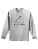 Acute Girl Adult Long Sleeve Shirt