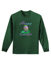 One Happy Easter Egg Adult Long Sleeve Dark T-Shirt