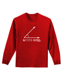 Acute Girl Adult Long Sleeve Dark T-Shirt