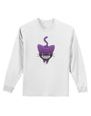 Evil Kitty Adult Long Sleeve Shirt
