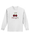 Cherry Pi Adult Long Sleeve Shirt