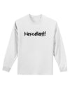 Mexico Text - Cinco De Mayo Adult Long Sleeve Shirt