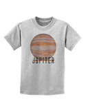 Planet Jupiter Earth Text Childrens T-Shirt