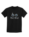 Pott Head Magic Glasses Childrens Dark T-Shirt
