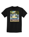 Diplodocus Longus - With Name Childrens Dark T-Shirt