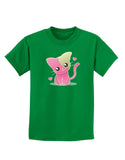 Kawaii Kitty Childrens Dark T-Shirt