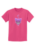 Evil Kitty Childrens Dark T-Shirt