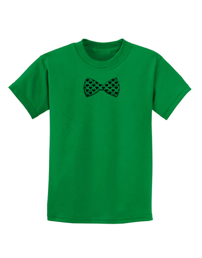 Bow Tie Hearts Childrens T-Shirt