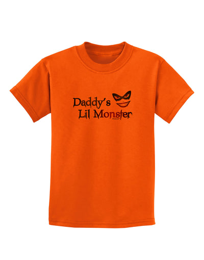 Daddys Lil Monster Childrens T-Shirt