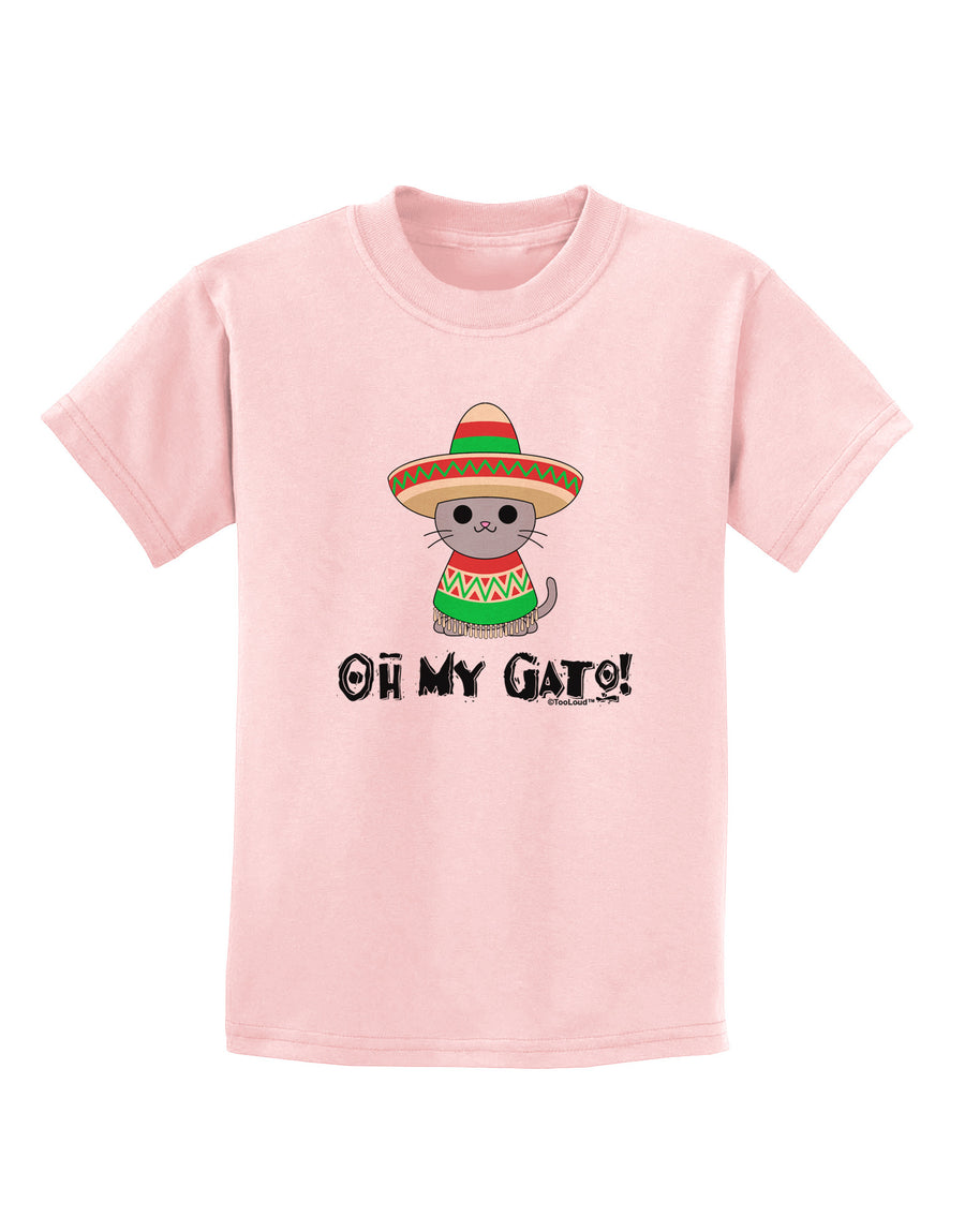 Oh My Gato - Cinco De Mayo Childrens T-Shirt
