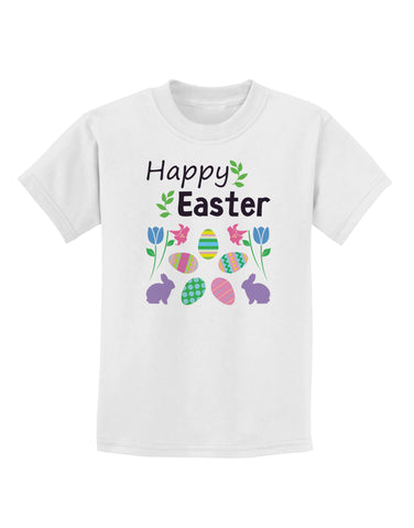 Happy Easter Design Childrens T-Shirt