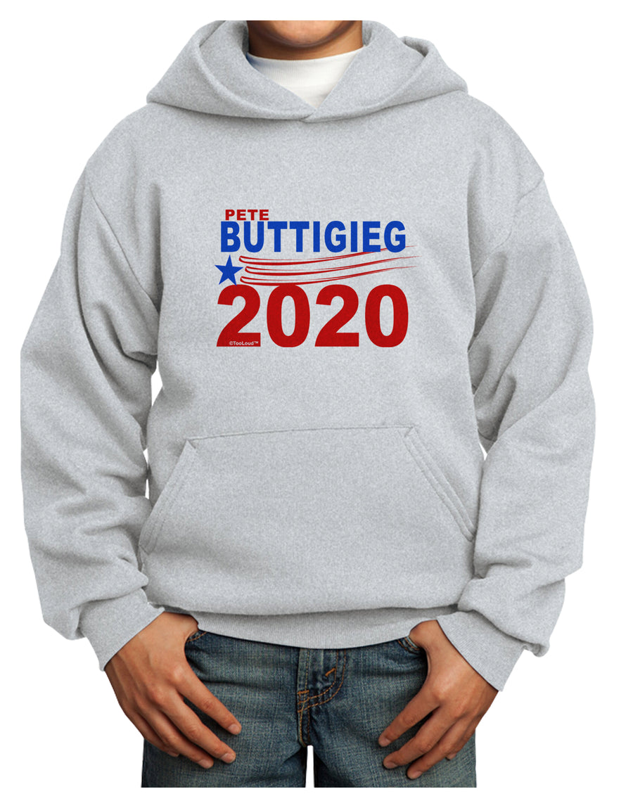 Pete Buttigieg 2020 President Youth Hoodie Pullover Sweatshirt by TooLoud