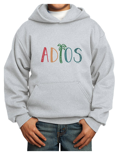 Adios Youth Hoodie Ash Extra-Large Tooloud