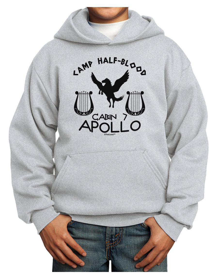 Cabin 7 Apollo Camp Half Blood Youth Hoodie Pullover Sweatshirt