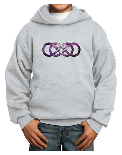 Double Ininifty Galaxy Youth Hoodie Pullover Sweatshirt