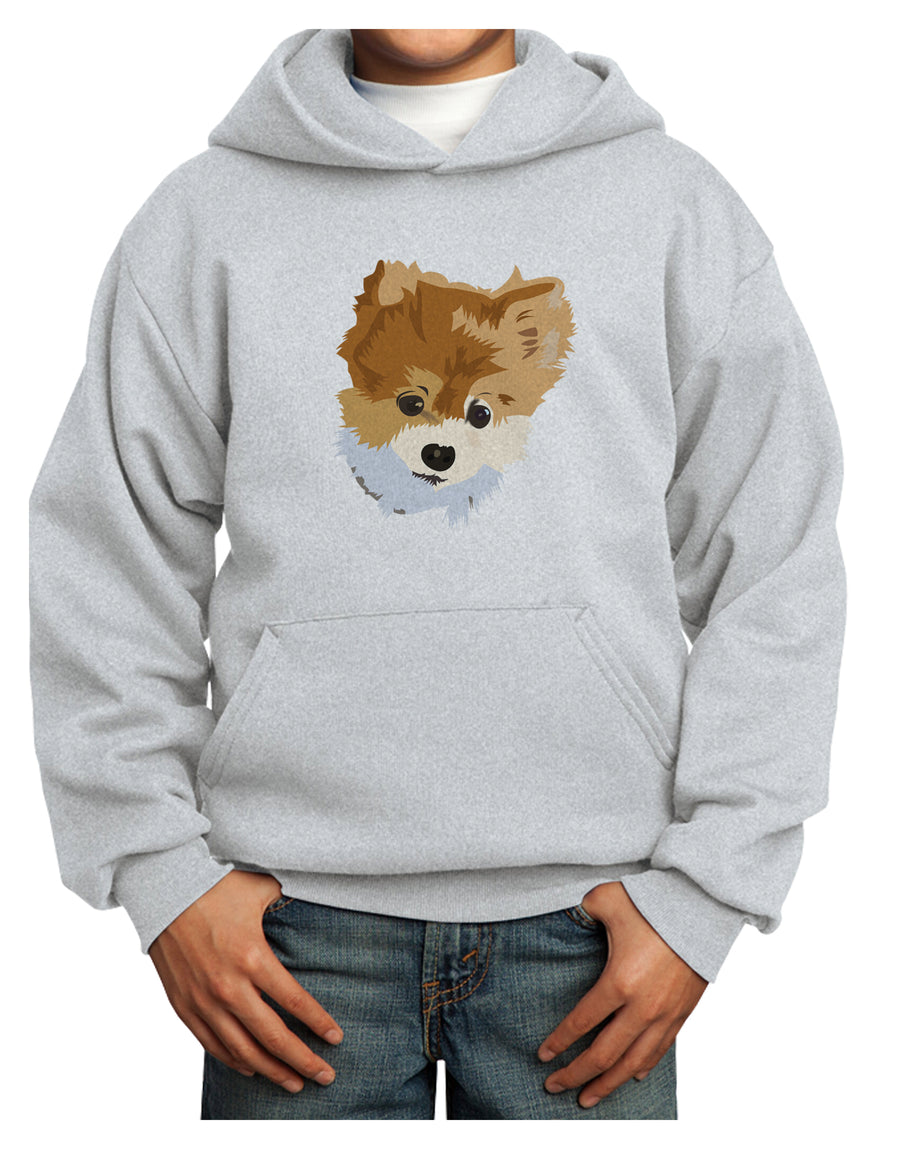 Custom Pet Art Youth Hoodie Pullover Sweatshirt by TooLoud