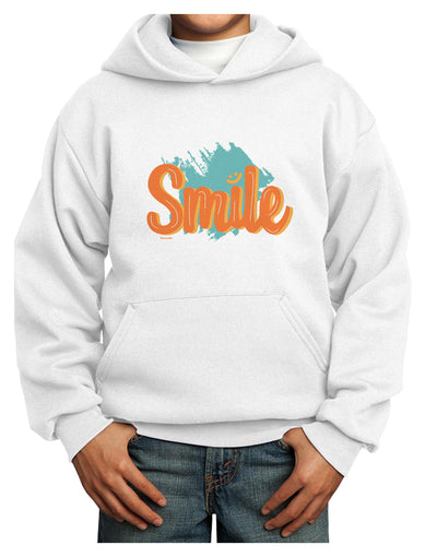 Smile Youth Hoodie White Extra-Large Tooloud
