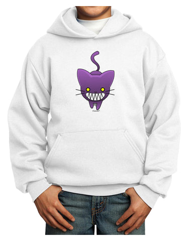 Evil Kitty Youth Hoodie Pullover Sweatshirt