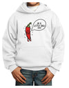 I'm a Little Chilli Youth Hoodie White Extra-Large Tooloud
