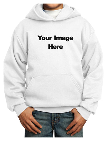 Your Own Image Customized Picture Youth Hoodie Pullover Sweatshirt