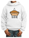 To My Pie Youth Hoodie White Extra-Large Tooloud
