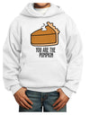 You are the PUMPKIN Youth Hoodie White Extra-Large Tooloud
