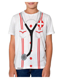 Nurse AOP Youth T-Shirt Single Side All Over Print