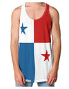 Panama Flag AOP Loose Tank Top Dual Sided All Over Print