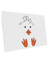 TooLoud Cute Easter Chick Face 10 Pack of 6x4 Inch Postcards