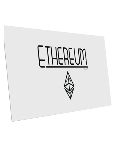 TooLoud Ethereum with logo 10 Pack of 6x4 Inch Postcards