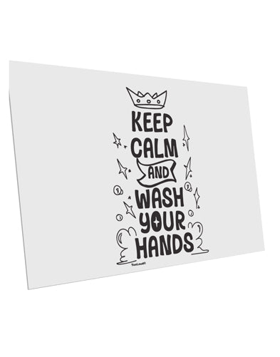TooLoud Keep Calm and Wash Your Hands 10 Pack of 6x4 Inch Postcards