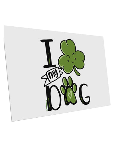 TooLoud I Shamrock my Dog 10 Pack of 6x4 Inch Postcards