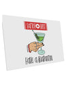 TooLoud Safety First Have a Quarantini 10 Pack of 6x4 Inch Postcards