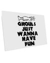 TooLoud Ghouls Just Wanna Have Fun 10 Pack of 6x4 Inch Postcards
