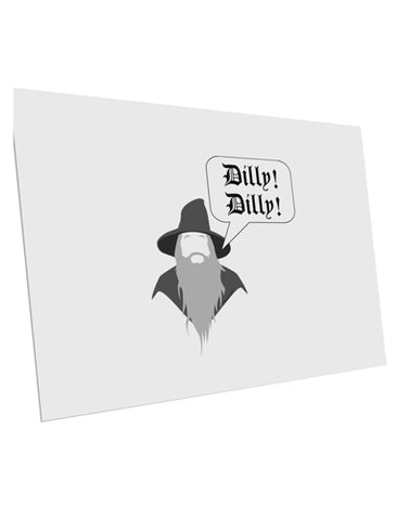 "Wizard Dilly Dilly 10 Pack of 6x4"" Postcards by TooLoud"