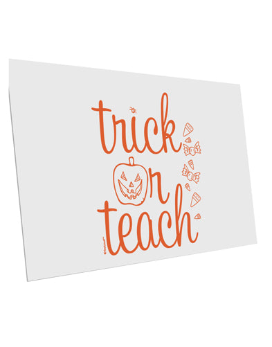 TooLoud Trick or Teach 10 Pack of 6x4 Inch Postcards