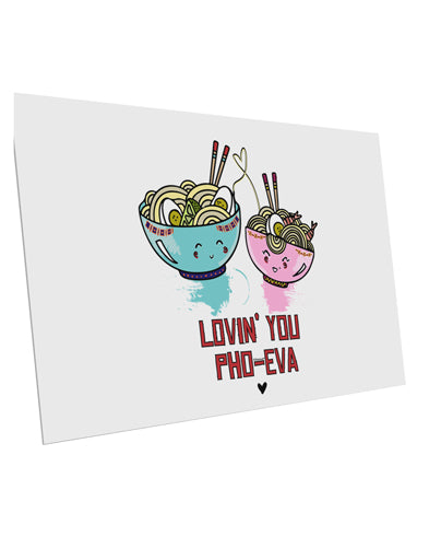TooLoud Lovin you Pho Eva 10 Pack of 6x4 Inch Postcards