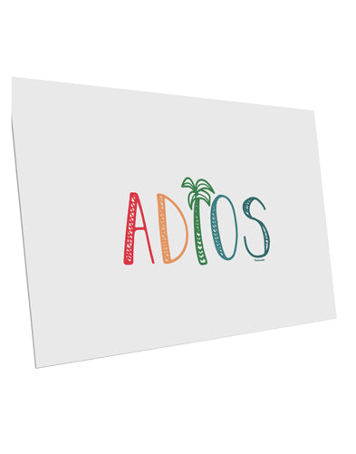 TooLoud Adios 10 Pack of 6x4 Inch Postcards